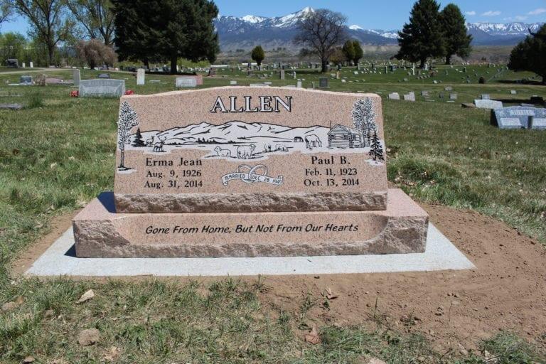 Allen Slant Memorial