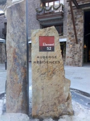 Auberg Commercial Signage