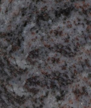 Bahama Blue Granite Color Sample - Morris Monument