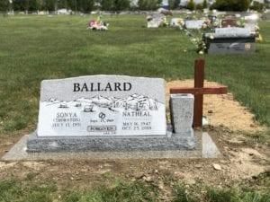 Ballard Companion Slant Memorial
