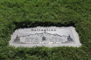 Battaglino Flat Gravestone