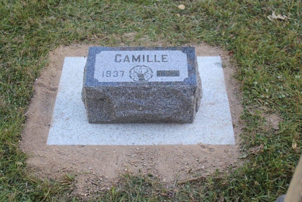 Besse Bevel Grave Marker