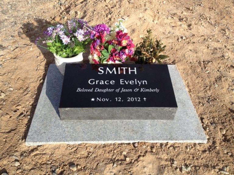 Smith Bevel Grave Marker