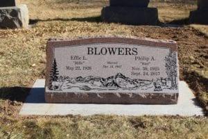 Blowers Slant Memorial