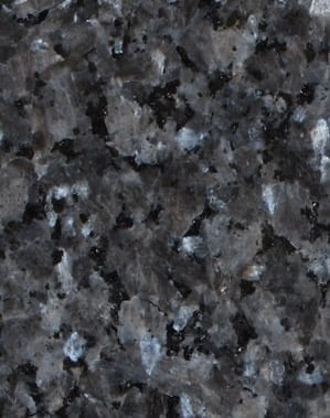 Blue Pearl Granite Color Sample - Morris Monument