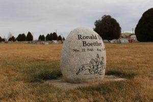 Boettler Custom Boulder Monument