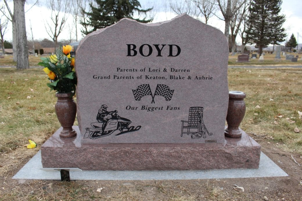 Boyd Upright Tablet Monument