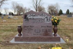 Boyd Mountain Top Slant Memorial