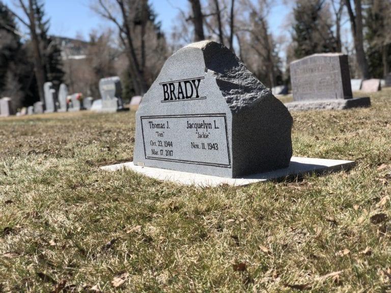 Brady Custom Boulder Monument