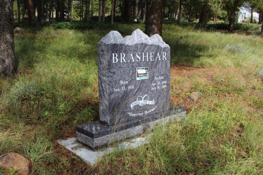 Brashear Mountain Top Upright Monument