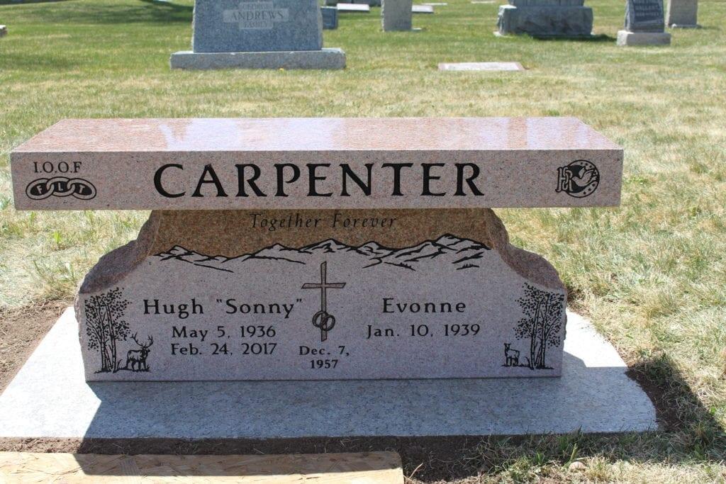 Carpenter Family Bench Memorial