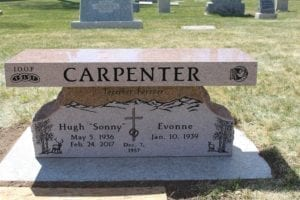 Carpenter Family Bench Memorial