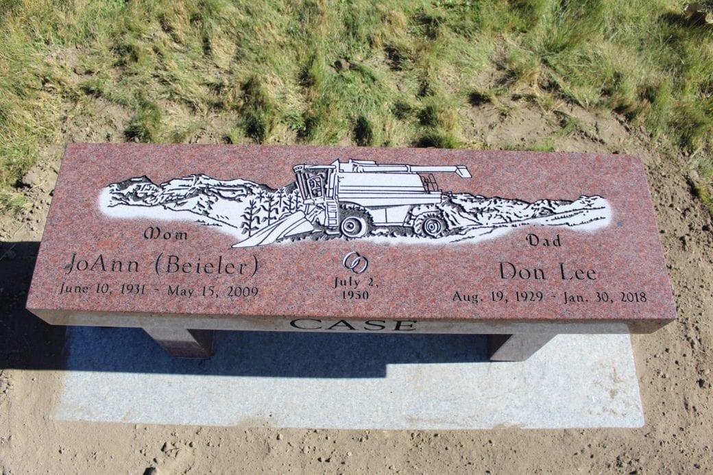Case Family Bench Memorial