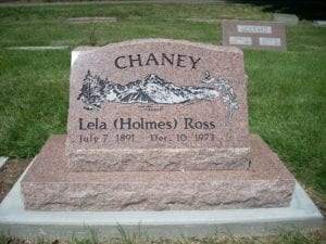 Chaney Slant Memorial