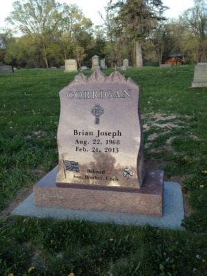Corrigan Slant Memorial