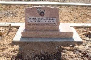 Creamer-Dyke Slant Memorial