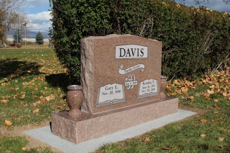 Davis Upright Tablet Monument
