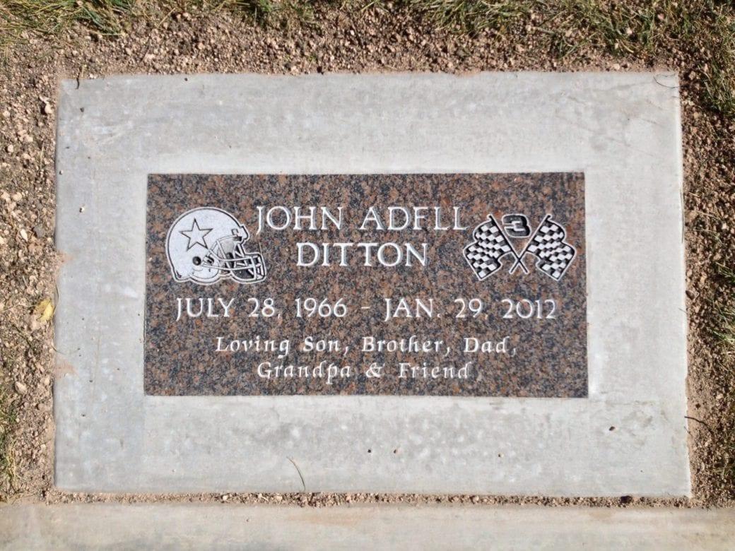 Ditton Flat Gravestone