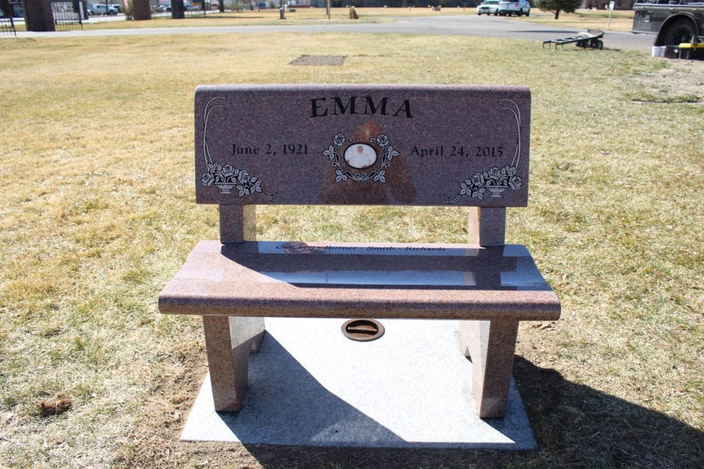 Emma Richards Bench Memorial