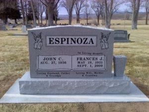 Espinoza Upright Companion Memorial