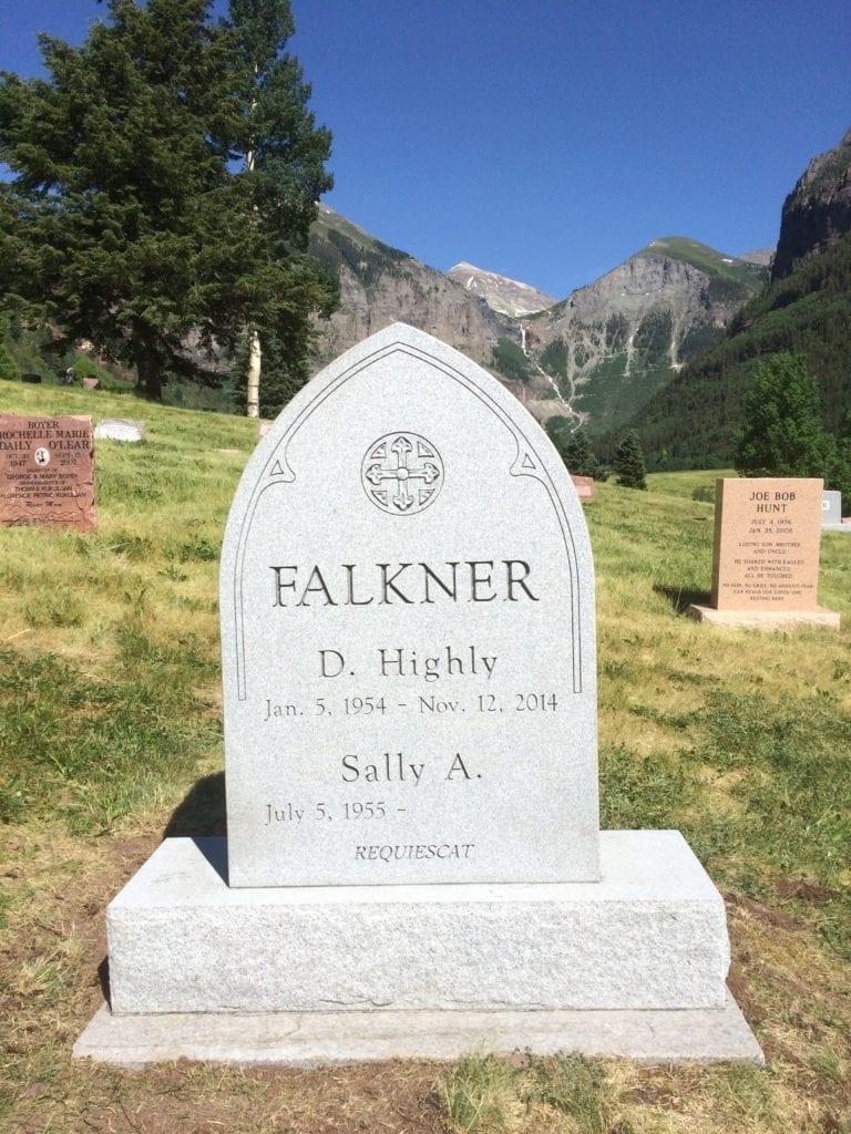 Falkner Custom Memorial