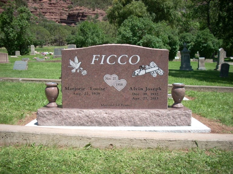 Ficco Upright Tablet Monument