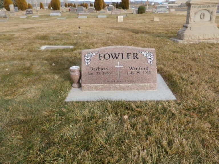 Fowler Slant Memorial