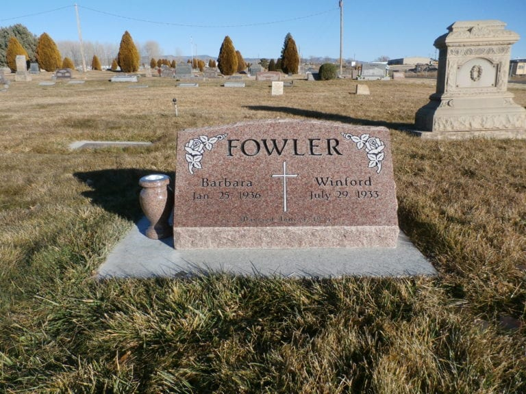 Fowler Slant Companion Memorial