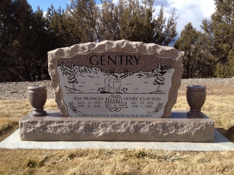Gentry Upright Tablet Monument