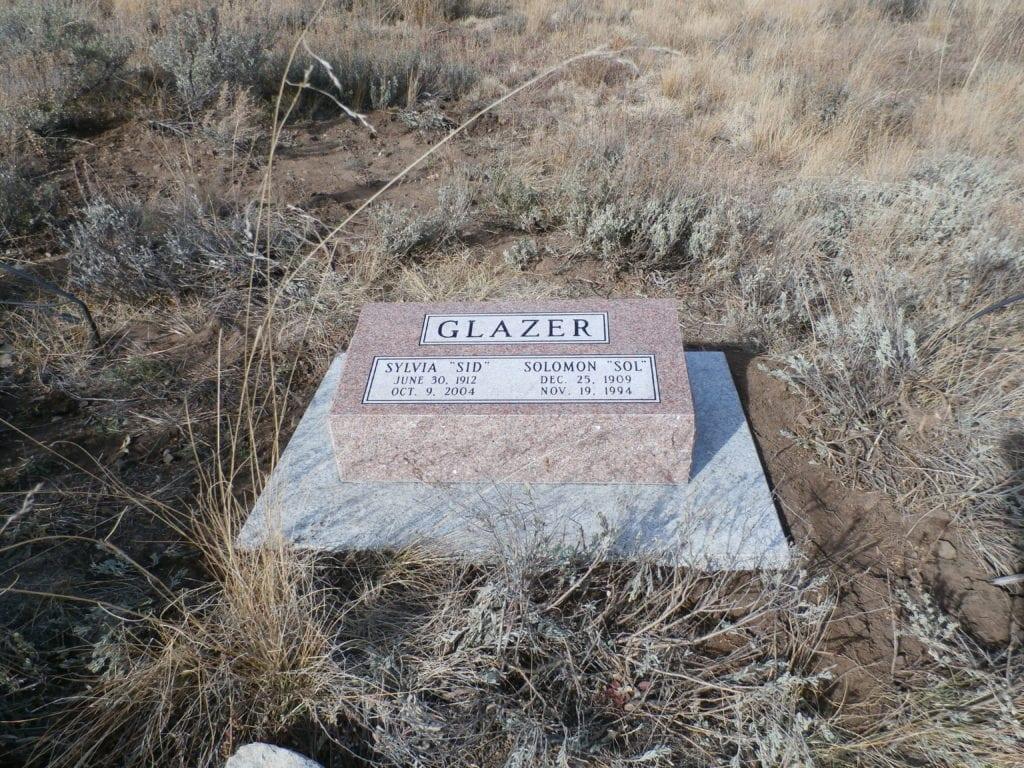Glazer Bevel Grave Marker
