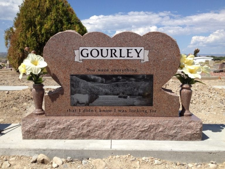Gourley Upright Tablet Monument