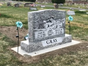 Gray Tablet Monument
