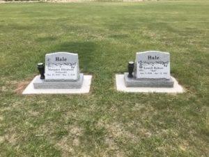 Hale Slant Companion Memorials