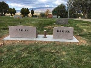 Hassler Slant Companion Memorials