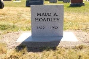 Hoadley Single Person Upright Monument