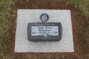 Bradshaw Bevel Grave Marker