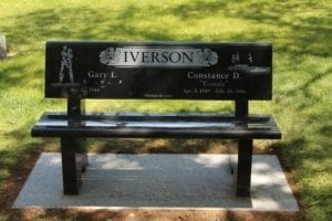 Iverson Family Bench Memorial