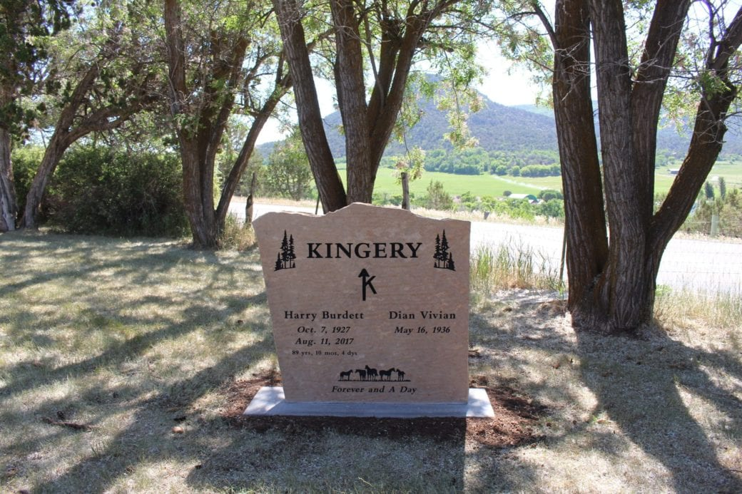 Kingery Companion Memorial Upright