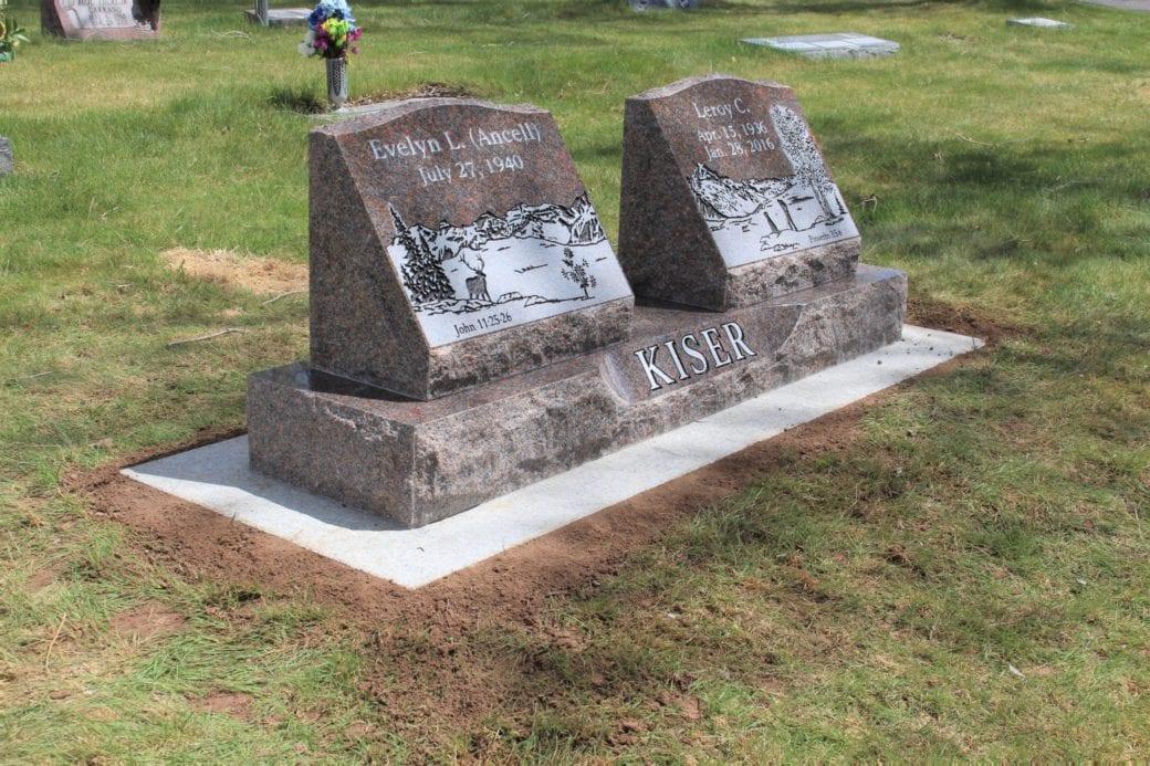 Kiser Slant Companion Memorial