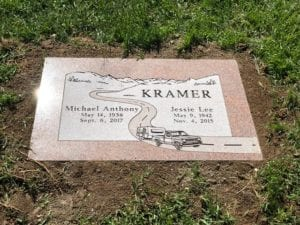 Kramer Flat Gravestone