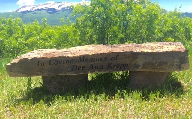Kropp Family Natural Bench Memorial
