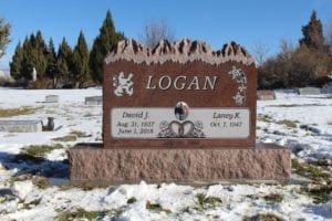 Logan Mountain Top Upright Monument