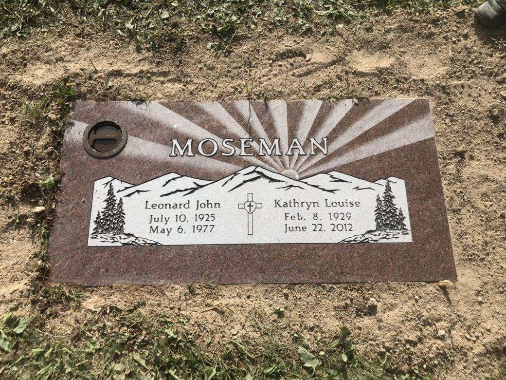 Mosman Flat Gravestone