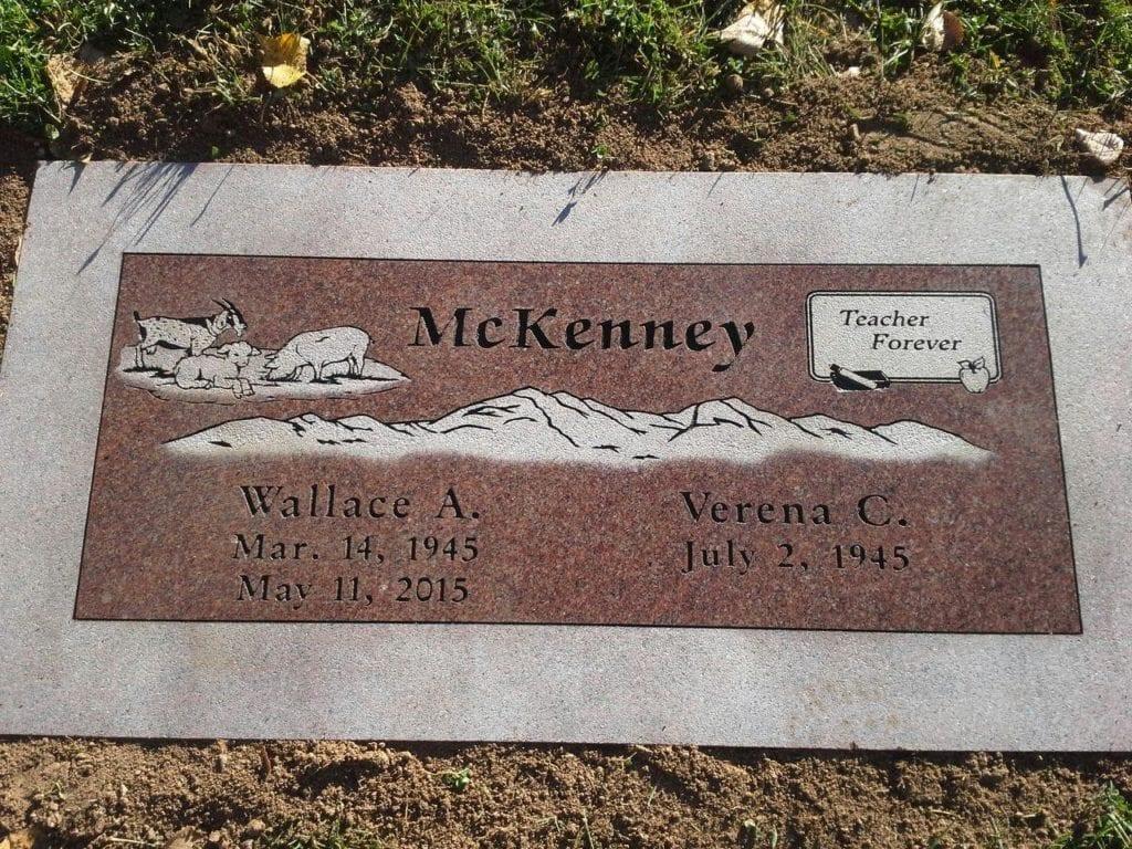 McKenney Flat Gravestone
