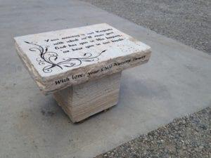 Memory Bench Memorial