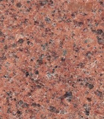 Missouri Red Granite Color Sample - Morris Monuments