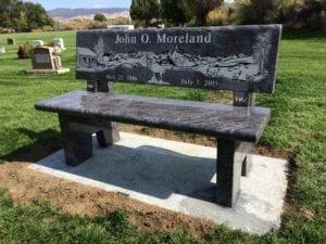 Moreland Family Bench Memorial