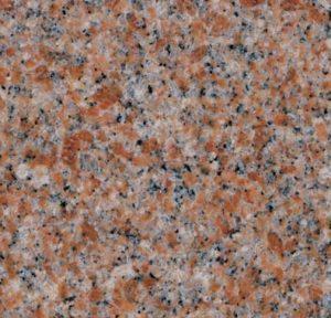 Mountain Rose Granite Color Samples - Morris Monuments