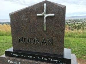 Noonan Custom Memorial