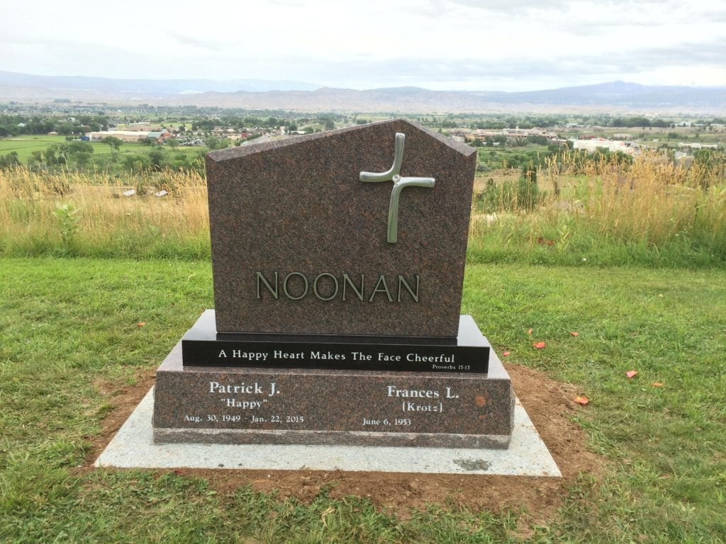 Noonan Companion Memorial Upright